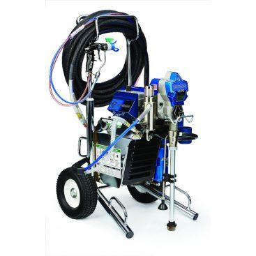 airless spuit met compressor