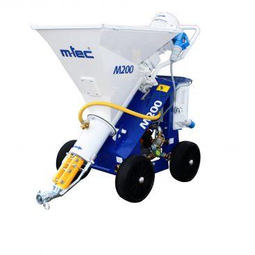 M-tec M200 gipsspuit voor een dunne laag gips