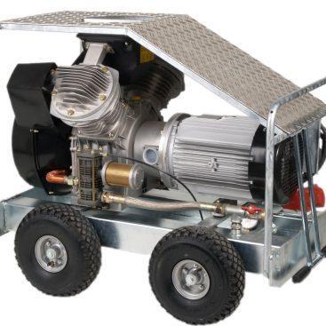 SLE 55 Compressor voor spackspuiten