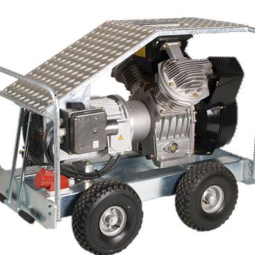 SLE 75 Compressor voor spackspuiten
